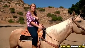 Black Girl With The Use Of Pigtails Gets Fucked Difficult Inside The Mountain Tops
