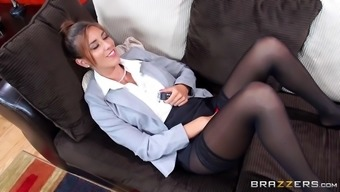 Danny D Discovered Slutty Gal Rilynn Rae Friction Her Clit