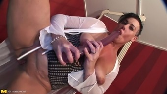 Sturdy Grow Older Common In Surpassing Leather Boots Gets Fucked