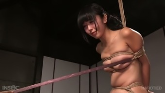 Tightly Bound From Asia Gf Marica Hase Had Hard Bdsm Arena With The Use Of Black Man