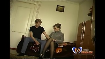 Hobo Stepmom Makes Her Nineteen Years Old Youngster Ignores His Virginity