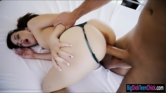 Small Young Adult Ashlynn Taylor Pussy Pounded By Big Very Difficult Penis