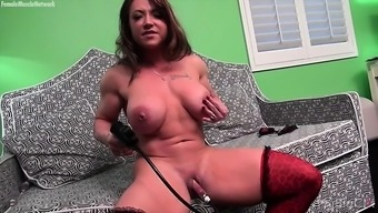 Naked A Woman Body Builder Brandimae Load Her Large Clit