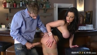 Aletta Ocean Below Took His Fat Cock Hormones Serious With Her Tight Pussy