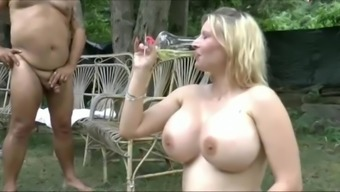 Gigantic Boobs Girls Swallow Great Deal Of Wee