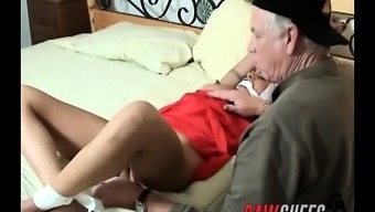 Submissive Brunette Yvette Leigh Gets Tied On Sleep And Toyed