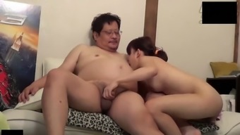 Lovely Asian Young Adult Accompany Uncensored Intercourse By Using Old Bloke