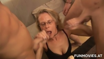Three Younger Kinky Complete Strangers Arrived In Fuck One Age 4(Four) Eyed Slut Very Difficult