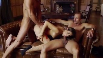Clea Gaultier Severe Sex By Using A Pair Of More Senior The Man