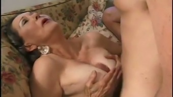 Senior Slutty Female Gets Her Old Cunt Popped Missionary Form (Fmm)