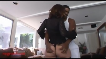 Grow Older Old Mother Along With Too Much Framework Takes Subdue Negro Cock I