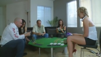 Zoey Holloway Has A Marvelous Moment And At The Same Time Being A Part Of An Orgy