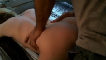 Little Date Gets Her Pussy Extended And Jam-Packed With Cum