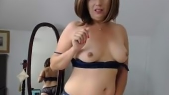 Naughty Age Chick Makes Her Pussy Moist