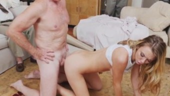 Old One Little Girl And Old Grand Father Cumshots Snapchat Molly Gets Her Keep