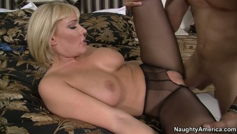 Buxom Age Hottie Mellanie Monroe Gets Her Pussy Refined And Fucked