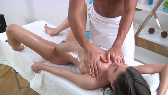 Light Colored Oiled Over Darling Stinks Bbc Or Her Lovely Massage Analyst