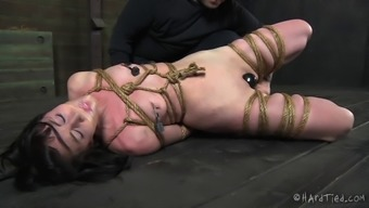 Attractive Bondage Cowgirl Spanked And Mocked In Bdsm Pornography