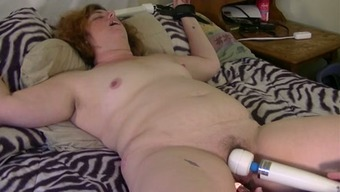 My Neighbor'S Slutty Unsightly Wifey With The Use Of Messy Hair Gets Fucked With The Use Of Item