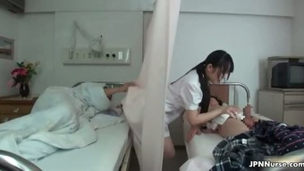 Japanese Healthcare Provider Adores Touching Two Part3