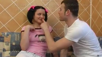 Gorgeous With The Use Of Pigtails Face Fucks Dicks &Amp; Gets Fucked Inside The Pussy