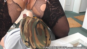 Slutwife Marion Creampied By Several Guys