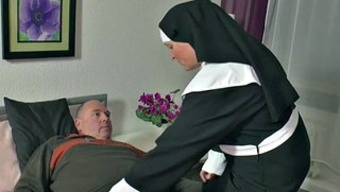 The German Language Nanna Nun Get Fucked With The Use Of Not Papa In Sextape