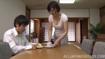 Perverted Japanese Partner Take Pleasure In Hardcore Pussy Pasting Act