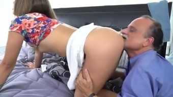 Youngster Rectum Unique Hdtv One Time Liza And