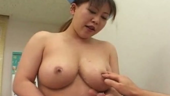 Busty Japanese Healthcare Provider Tells Her Patient To Enduldge In Sex Together