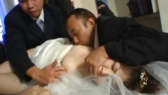 Oriental Bride To Be Gets Extreme Group Fucking Part1