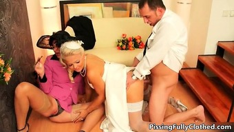 Naughty Bride To Be And Her Beautiful Mum Part6