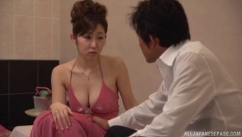 Betrayal Asian Milf Stickers Exposed And Also Has Her Cunt Fucked Complicated