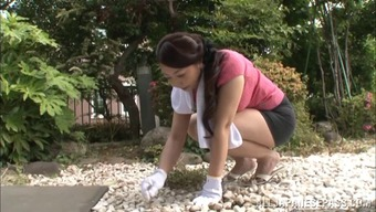 Japanese People Housewife Aroused Furthermore He Gropes Her Nipples