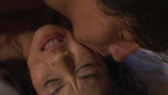 Extremely Beautiful Japanese Companion Taking Pleasure In An Innovative Cowgirl Present Nailing