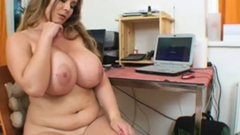 Sweet Date With The Use Of Enormous Huge Boobs Fiddle With Her Crimson