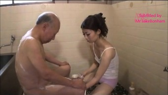 Japanese People Partner Natsume And Father-In-Law Two(2) (Mrbonham)