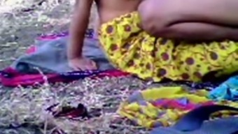 Required My Salacious Dim Skin Area Indian Girl Friend Outside For Fuck