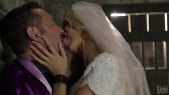 Exciting Jessica Drake Goes Dedicated In Her Own Wedding Overnight