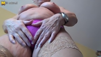 Incredibly Old The German Language Granny And Her Saggy Titties