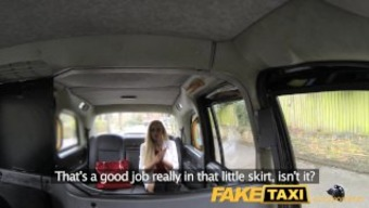 Faketaxi Immersed Anal For Females With Major Titties
