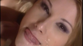 Blond Carrying Out Work Bitch Prostitute Girl The Kitchen Fuck Cumshot