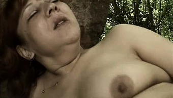 Perverted Grow Older Woman Goes Over The Edge Kissing Part2