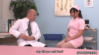 Lovely Clinician Aika Hoshino Is Obtaining Down And Grimy With Her Health Professional