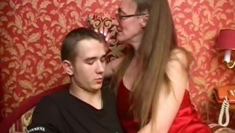 Slim And Horny Russian Milf Really Loves Oral Sex And Driving Dicks