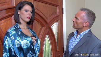 Attractive Peta Jensen Lets The Partners Screw Her For All The Different Postures