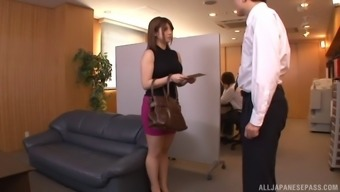 Japanese People Girl With Perfect Tits And Her Time With The Perverted Stud