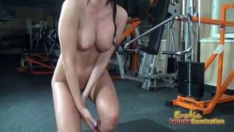 Major Titted Mistress Smothers And Jerks Off Machine