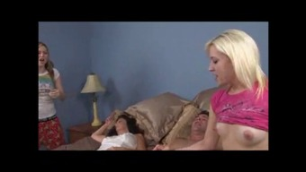 Sizzling Teenager Assault Her Friends Daddy To Very Large Cums Wf