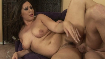Twisted Brunette Mother Vanessa Blake Rides Hard Cock Of The Friend With Committment